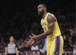 NBA》詹皇招募一眉哥犯眾怒 聯盟「柔性」規勸