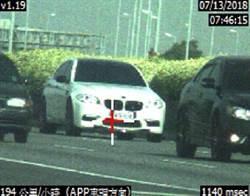 影》國道超速就開罰 駕駛稱「要挫屎了」狂飆也被吊銷執照