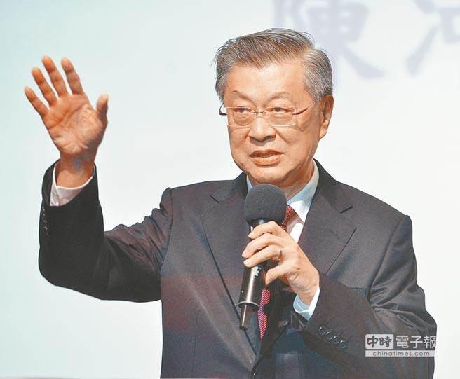 行政院前院長陳冲。(資料照)