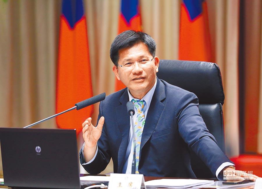 台中市長林佳龍卸任後將成立基金會,關心新市長盧秀燕、做好重返執政準備!(陳世宗攝)