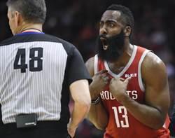 NBA》26顆三分球!火箭改寫史上單場最多三分紀錄