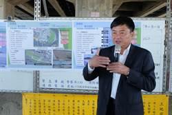 卸任前不忘建設 北港鎮長會勘河川地、新商圈工程