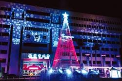 桃園市府廣場聖誕樹 打卡新熱點