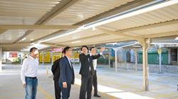 基隆南站 增538有雨遮機車格