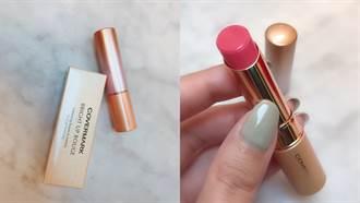 這就是初戀的顏色啊!超Q唇膏色「舞櫻粉」讓嘴巴看起來超可愛