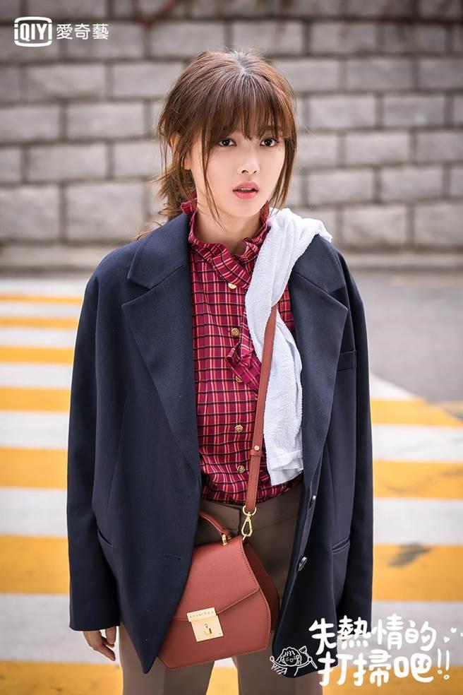 金裕貞飾演魚干女吉五雪,為了生活不顧打扮。愛奇藝台灣站提供