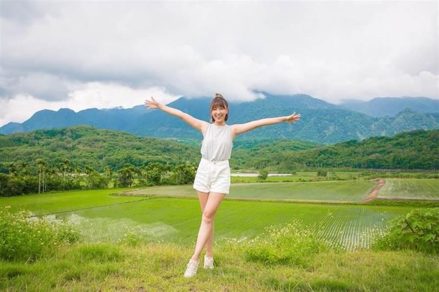 李懿喜歡戶外運動。(取自臉書)