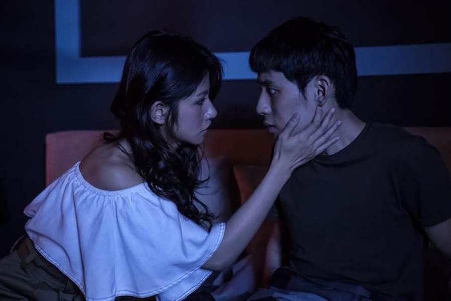 徐鈞浩第一次拍吻戲。(歐銻銻娛樂提供)