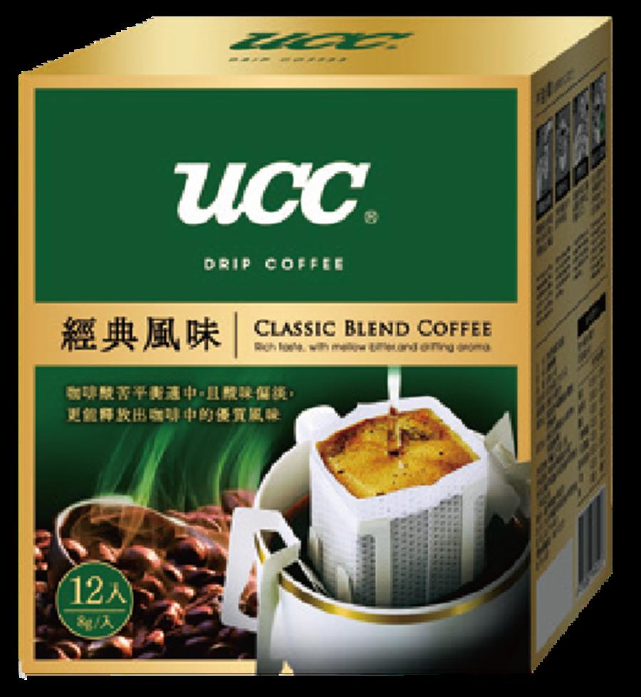 全聯咖啡大賞推出逾40款咖啡買一送一,圖為UCC濾掛咖啡。(圖/業者提供)