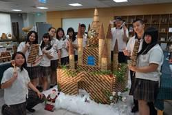 光華高中校慶90周年 打造迪士尼級別薑餅城堡