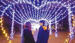 頭城點燈 入夜變身歡樂耶誕城