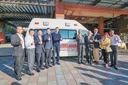 旺英衛教基金會 捐贈高頂救護車