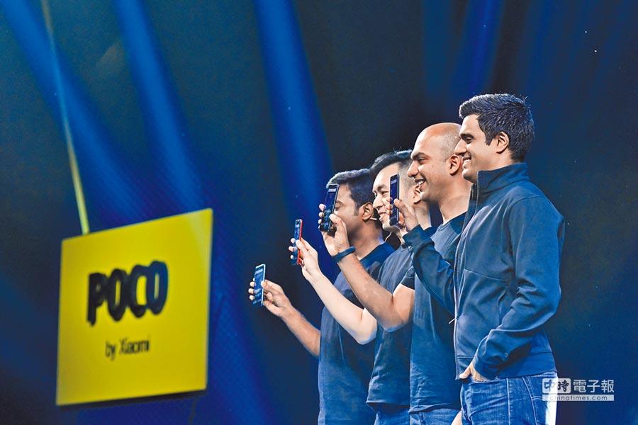 8月22日,小米在印度新德里舉行發布會,正式發布旗下子品牌POCO的首款手機產品POCOF1。(CFP)