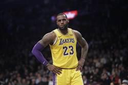 NBA》詹姆斯坦承湖人目前無法與勇士相比