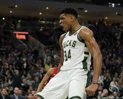NBA》字母哥搶回官方MVP榜首 詹皇退居第3
