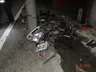 影》距家僅50公尺 男騎士遭賓士車高速衝撞身亡