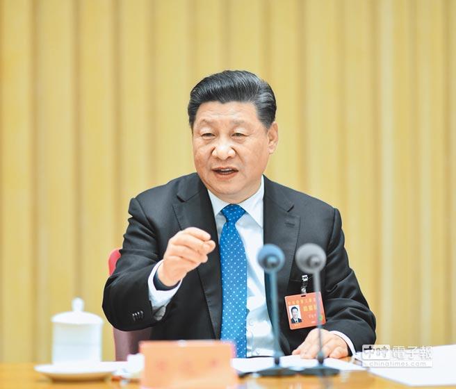 12月19日至21日,中共中央經濟工作會議在北京舉行。中共總書記習近平發表講話。(新華社)
