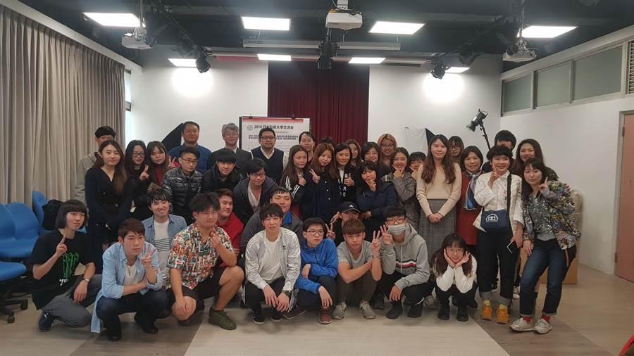 國際文化交流,日本國立弘前大學參訪健行科大。(健行科大提供)