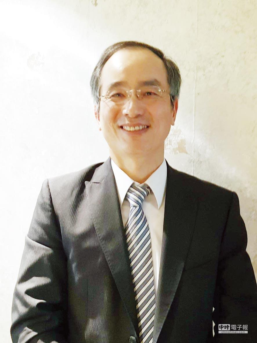 傑智董事長張豐堂。圖/鄭淑芳