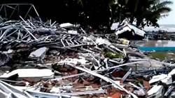 印尼海嘯恐怖夜襲 8台人2重傷受困山上