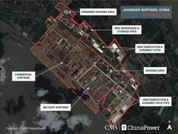 軍力不斷成長 美智庫CSIS:陸江南造船廠規模7年增長64%