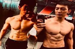 健壯男星曬3年間肌肉變化 是元介拱他去比賽反被邀一起參賽!