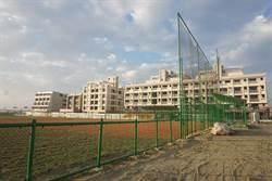 台南新市斥資800萬蓋棒壘球場  近日竣工