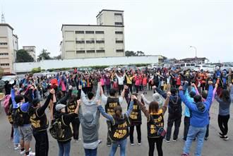 反納骨塔興建 竹北新豐逾500人攜手護步道