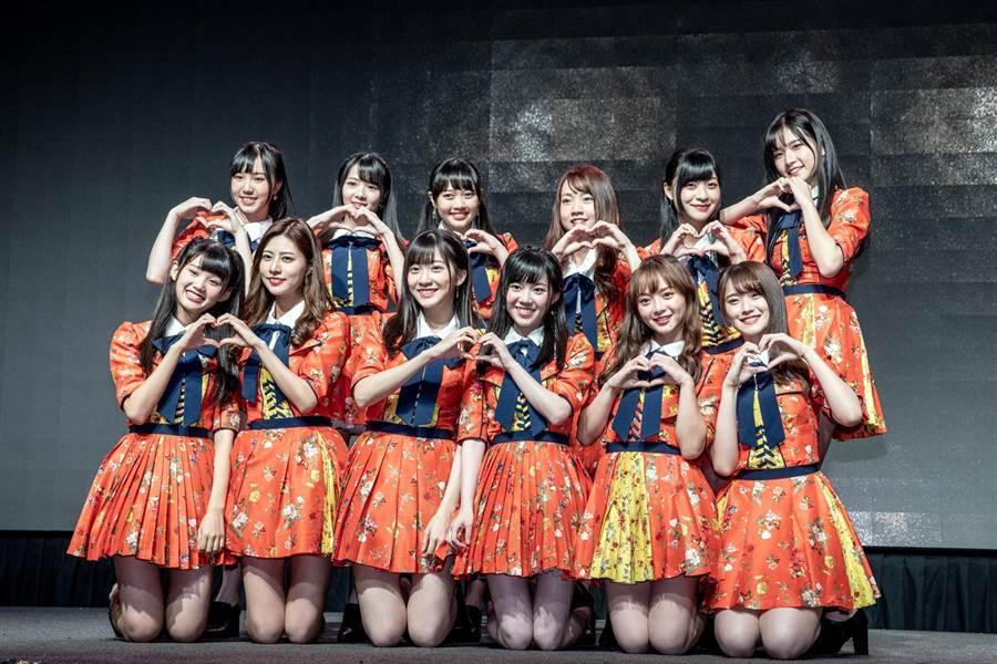 揮別演藝事業停擺低潮 AKB台灣團耶誕發首張單曲。(好言娛樂提供)