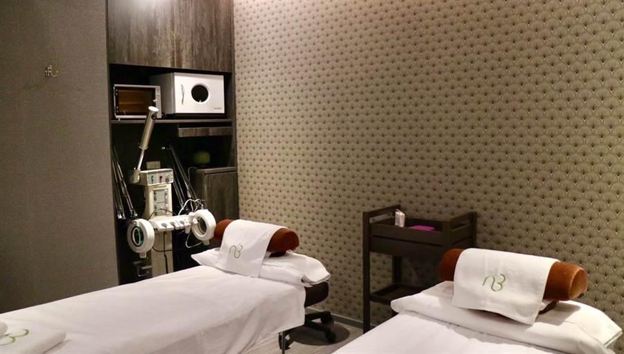 東森自然美大直旗艦店美容室設備先進,環境舒適。圖:業者提供