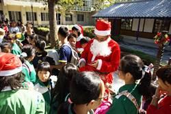 耶誕節賞花博 與耶誕老公公共度佳節