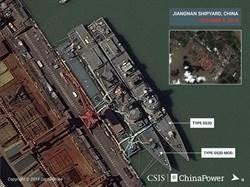 陸改型052D導彈驅逐艦衛星照曝光 將增配大型反潛機