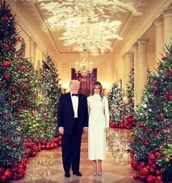 梅蘭妮亞貼身洋裝過耶誕 白色CELINE穿得好應景