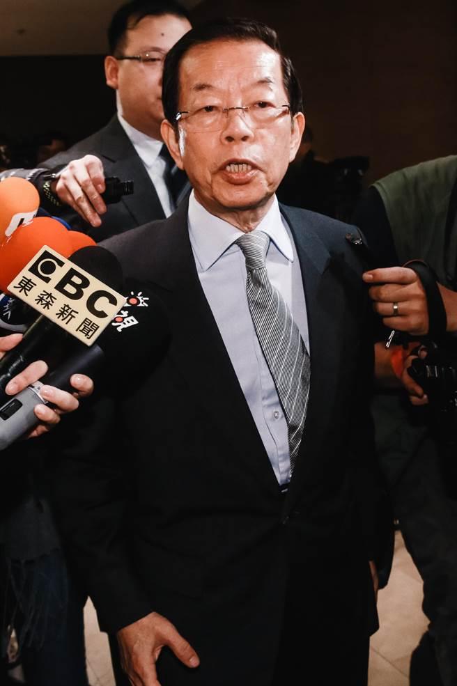 駐日代表謝長廷。(圖/本報資料照)