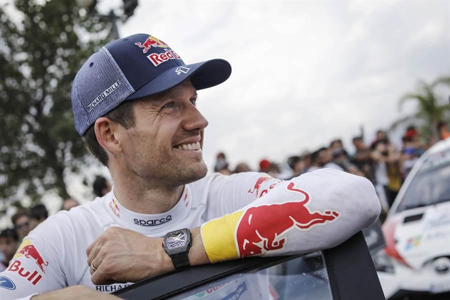 知名賽車手Sebastien Ogier拿下生平第六勝,再上一層樓。(Richard Mille提供)