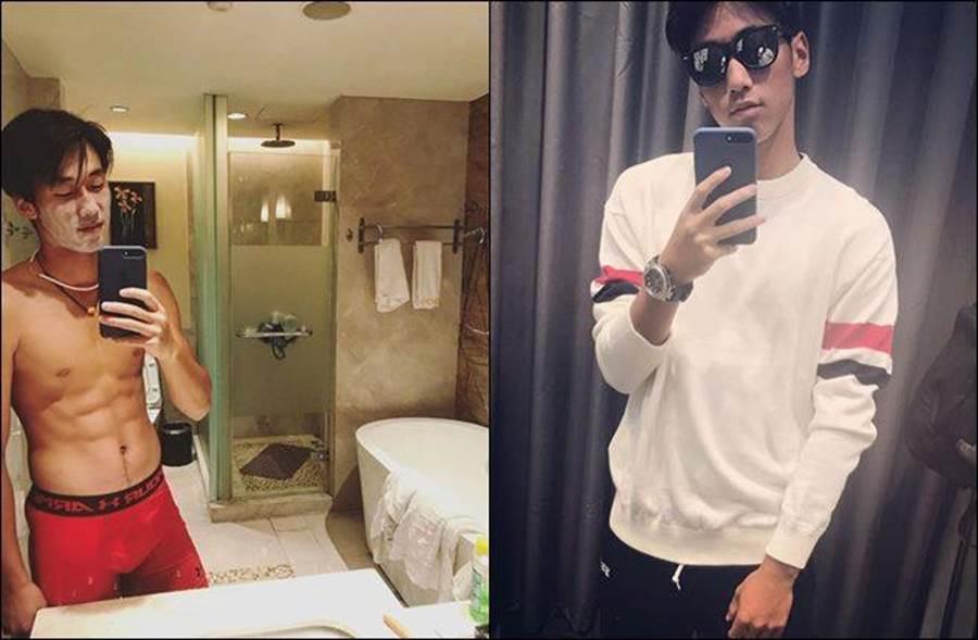 今天王薔則官宣確定男友就是大陸17歲男子網球選手周歆牧。(圖/翻攝自微博)