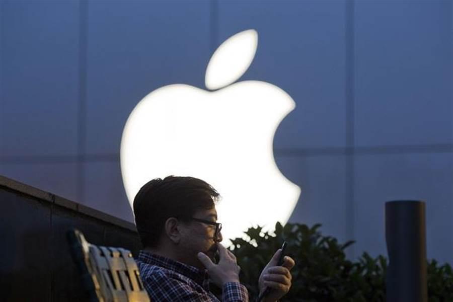 蘋果市值暴跌。(美聯社資料照片)