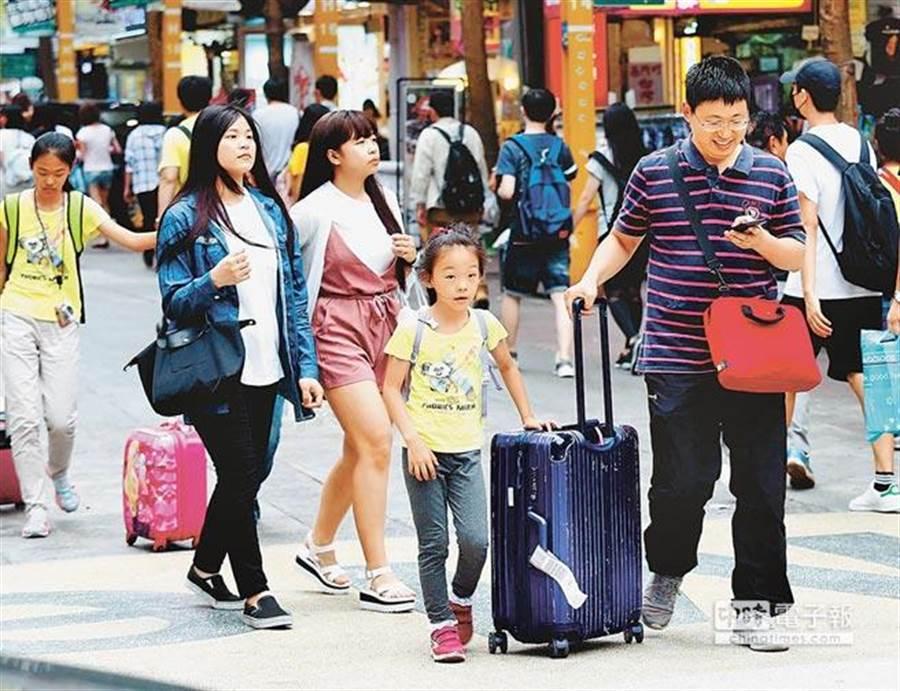 觀光局今(24)日透露,擬修正《旅行業管理規則》,降低國內旅遊市場業務的乙種旅行社申請門檻。(報系資料照)
