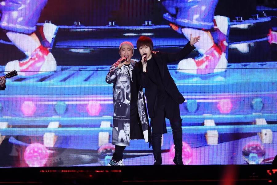 吳宗憲站台當五月天演唱會嘉賓。(相信提供)