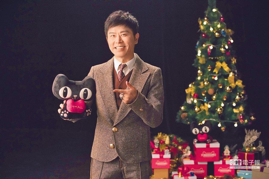 伍思凱推出〈超級的愛給超級的你〉,日前在北京拍攝MV。