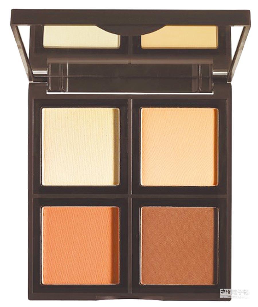 iHerb上還有平價的E.L.F. Cosmetics品牌,4色修容盤,189元。(翻攝自iHerb)