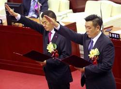 北市議會正副議長選舉 國民黨陳錦祥、葉林傳當選