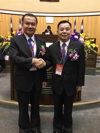 邱奕勝、李曉鐘 順利連任桃園市議會正、副議長