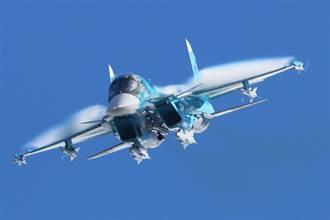 空中鴨嘴獸敘境秀實力 俄已裝備127架蘇34