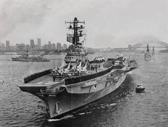 澳洲墨爾本號航艦 著名的「海上災星」