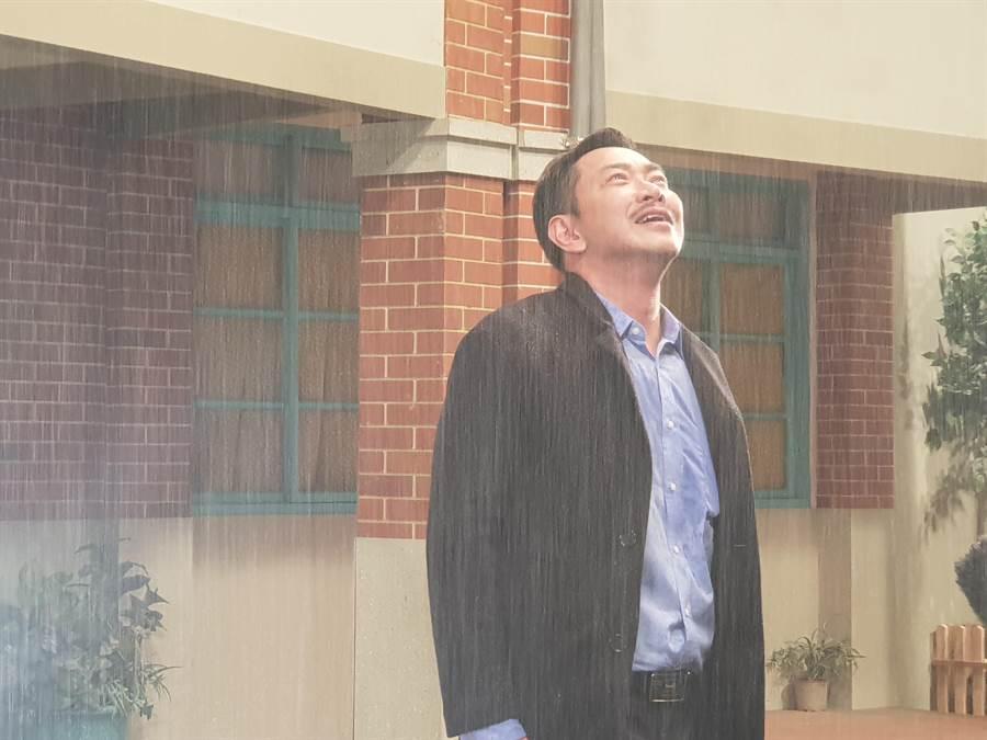 江俊翰回歸《大時代》眼淚止不住。(民視)