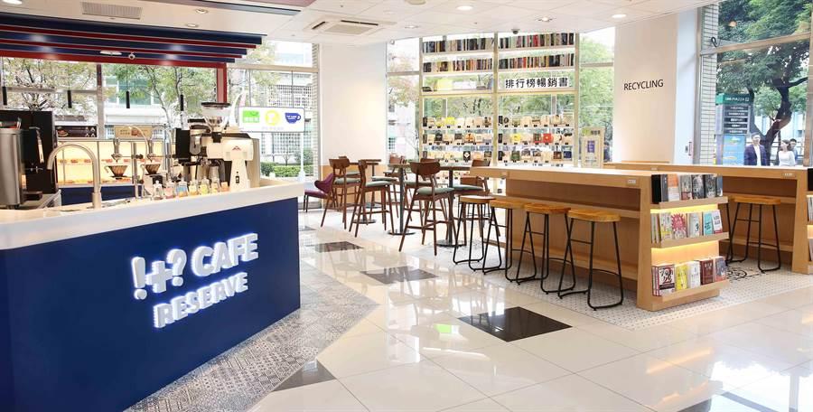 7-11今(25日)發表全新店型「Big7」,將咖啡、閱讀、糖果、美妝、烘焙與超商六大業種整合在單一門市內。(品牌提供)