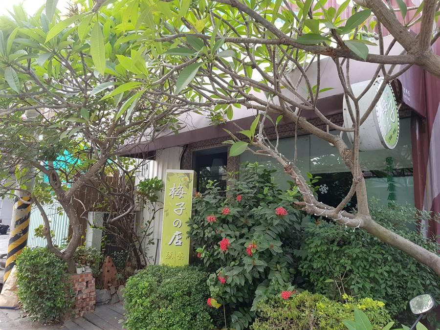 新化梅子的店提供多樣化的蔬食養生料理,為在地人的私密廚房。(李其樺攝)