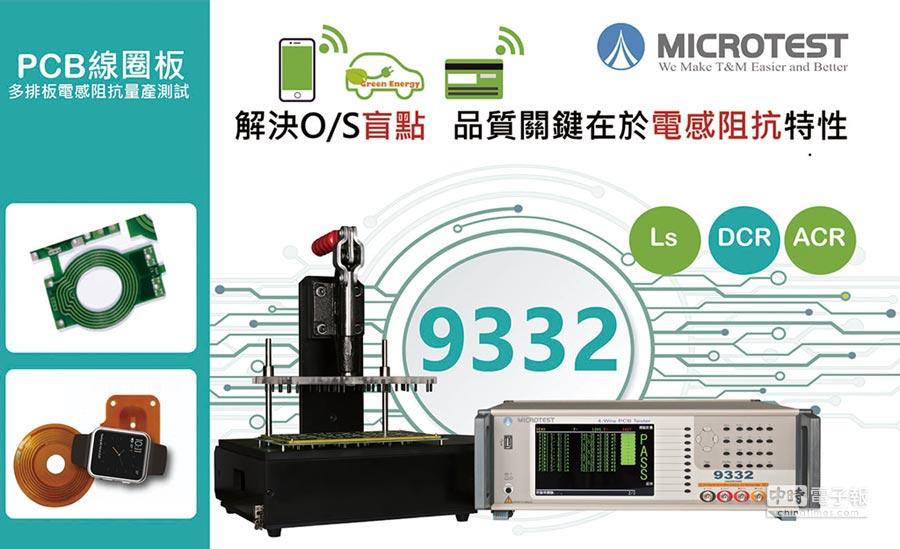 益和Microtest量測技術,可滿足板廠一向慣用Panel多連板檢測的終檢方式。圖/業者提供