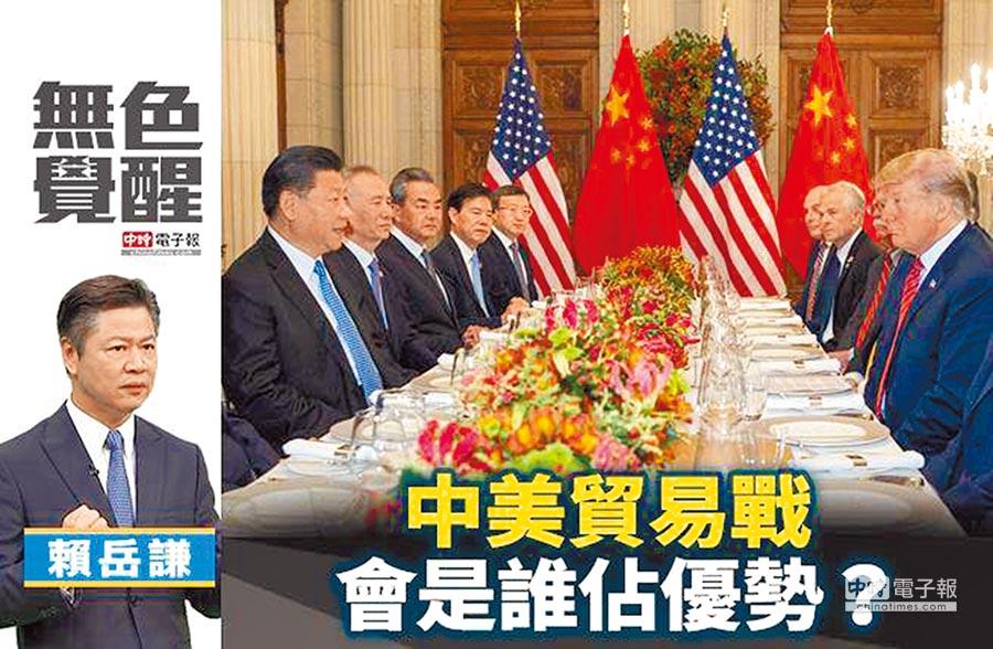 賴岳謙:中美貿易戰 會是誰佔優勢?